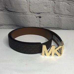 Michael Kors Reversible Logo Belt 554517c - size Large